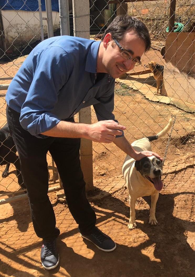 Deputado Bruno Ganem fez entrega de ração a ONGs da Causa Animal em Indaiatuba
