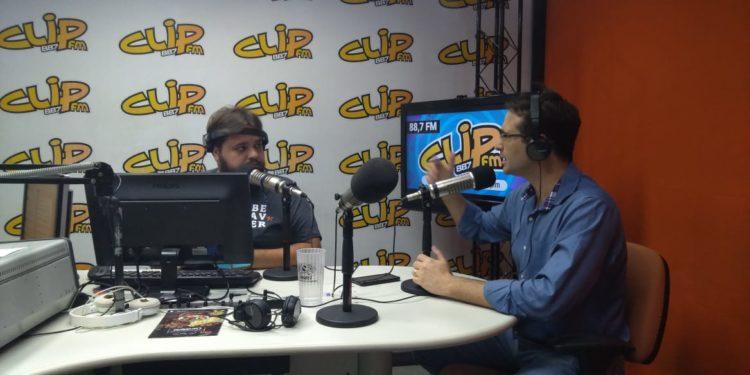 Ganem é entrevistado no Programa Fala Sério, da Clip FM